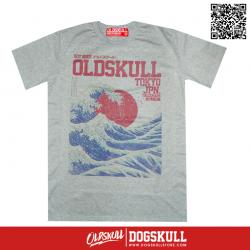 เสื้อยืด OLDSKULL : EXPRESS #37   Top Dry Grey