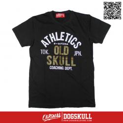 เสื้อยืด OLDSKULL : ULTIMATE #495   LIGHT BLACK
