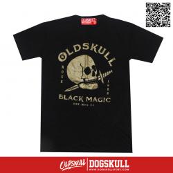 เสื้อยืด OLDSKULL : ULTIMATE HD94   BLACK
