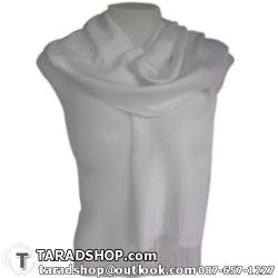 ผ้าพันคอ รับลมหนาว ชาวเหนือ สีขาว เบอร์ 1