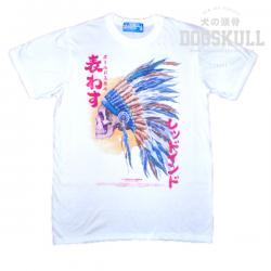 เสื้อยืด OLDSKULL : EXPRESS HD #65   สีขาว