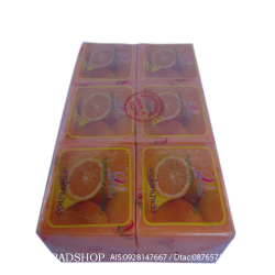 สบู่สมุนไพร ส้มผสมคอลลาเจน Vipada (แพ็ค)