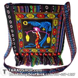 กระเป๋า งานฝีมือ สินค้าชาวเมืองเหนือ (เนื้อบาง)