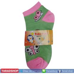 ถุงเท้าแฟชั่น pokopoko ( ชนิดแพ็ค)