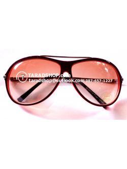 แว่นกันแดด (สีแดงอ่อน)