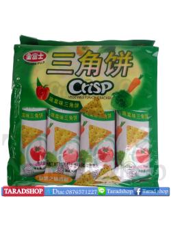 ขนมcrisp vegetable flavor cracker (ชนิดห่อ)
