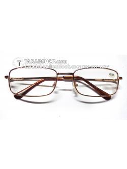 แว่นสายตา ยาว +0.75D ( สีเลนส์ กระจกใส ) สีกรอบ ทองอ่อนๆ) ขา สแตนเลส