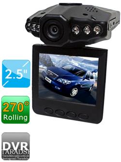 กล้องติดรถยนต์ HD DVR2.5 (ชนิดกล่อง)
