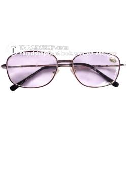 แว่นสายตา สตรี (สีเหลืองอ่อนผสมขาว)