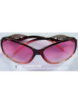แว่นกันแดด สีผสม (ม่วงอ่อน+ดำเข้ม)