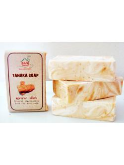 สบู่ขมิ้นทานาคา NATURAL TANAKA SOAP
