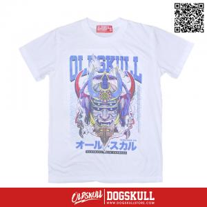 เสื้อยืด OLDSKULL : EXPRESS GUNDAM | สีขาว