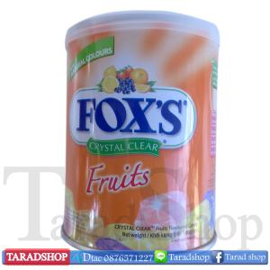 ลูกอม Fox's Crystal Clear Fruits (ชนิดกล่อง)
