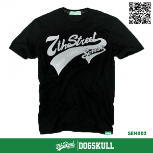 เสื้อยืด 7TH STREET - รุ่น SENSE   BLACK