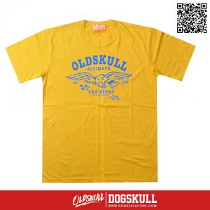 เสื้อยืด OLDSKULL: ULTIMATE | YELLOW