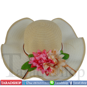 หมวกฟาง ( คละสี )