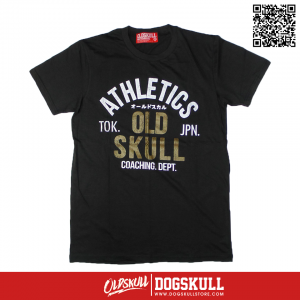 เสื้อยืด OLDSKULL : ULTIMATE #495 | LIGHT BLACK