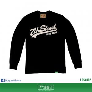 เสื้อยืดแขนยาว 7TH STREET - รุ่น 7th Street | Black