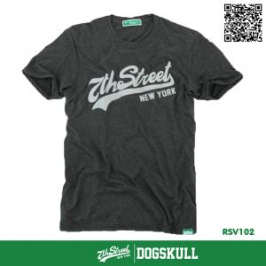 เสื้อยืด 7TH STREET - รุ่น 7th Street   Top Dry Black