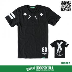 เสื้อยืด 7TH STREET - รุ่น Cross Back   Black