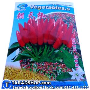 เมล็ดพันธุ์ผัก พริกขี้หนูสวน (ชนิดซอง)