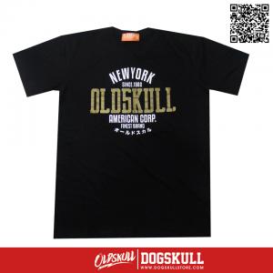 เสื้อยืด OLDSKULL: ULTIMATE HD #08 | BLACK