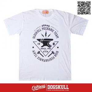 เสื้อยืด OLDSKULL: ULTIMATE HD | WHITE