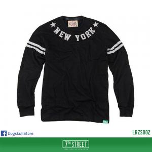 เสื้อยืดแขนยาว 7TH STREET - รุ่น New York Star | Black
