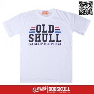 เสื้อยืด OLDSKULL: ULTIMATE HD #69 | WHITE