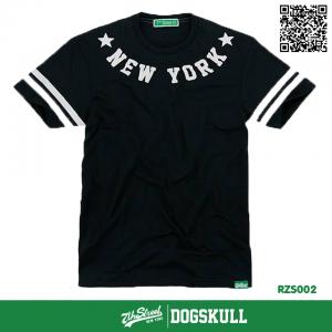 เสื้อยืด 7TH STREET - รุ่น NEW YORK STAR   BLACK