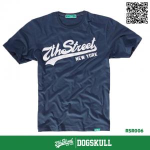 เสื้อยืด 7TH STREET - รุ่น 7th Street   Dark Blue