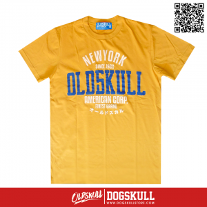 เสื้อยืด OLDSKULL : ULTIMATE HD #08 | YELLOW