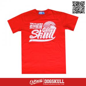 เสื้อยืด OLDSKULL: ULTIMATE | RED