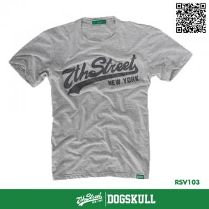 เสื้อยืด 7TH STREET - รุ่น 7th Street   Top Dry Grey