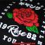 เสื้อยืด OLDSKULL : ULTIMATE | ROSE BLACK thumbnail 4