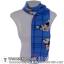 ผ้าพันคอ รับลมหนาว ชาวเหนือ สีฟ้า thumbnail 1
