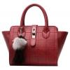 ***พร้อมส่ง*** Lady Choices Bangkok กระเป๋าหนังแฟชั่นสตรี รหัส TZ-019 (T4-007) สีแดง สไตล์เกาหลี สำหรับ สุภาพสตรีทันสมัย ราคาไม่แพง