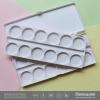 จานสี 2 ชั้น 24 ช่อง กล่องขาว ขนาด 18X8เซนติเมตร
