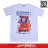 เสื้อยืด OLDSKULL : EXPRESS FUN GIRLS | WHITE