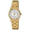 นาฬิกา Casio STANDARD Analog-Ladies' รุ่น LTP-V002G-7B2 ของแท้ รับประกัน 1 ปี