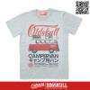 เสื้อยืด OLDSKULL : EXPRESS HD #70 CAMPERVAN | เทา