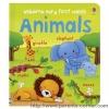 หนังสือเด็ก Usborne Very First Words : Animals