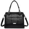 ***พร้อมส่ง*** กระเป๋าหนังแฟชั่นสตรี รหัส MIS-1619 (M9-201) สีดำ สไตล์เกาหลี สำหรับ สุภาพสตรีทันสมัย ราคาไม่แพง