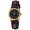 นาฬิกา Casio STANDARD Analog-Ladies' รุ่น LTP-V002GL-1B ของแท้ รับประกัน 1 ปี