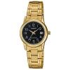 นาฬิกา Casio STANDARD Analog-Ladies' รุ่น LTP-V002G-1B ของแท้ รับประกัน 1 ปี