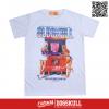 เสื้อยืด OLDSKULL : EXPRESS FUN GIRLS | WHTE XL