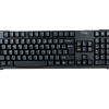 KB-651Blk Standard Keyboard with PS/2