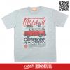 เสื้อยืด OLDSKULL : EXPRESS HD #70| เทาท็อปดราย