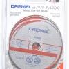 "0 215 S51 0NC DREMEL DSM510C-RW ใบตัดเหล็ก 3"" 1แพ็คมี 3 ใบ SAW-MAX"