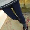 กางเกงเลกกิ้ง ขายาว สีกรมท่า